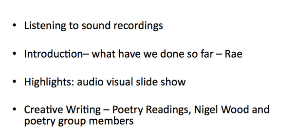 """""""Not quite a show... more like an annual report for a project you didn't know existed"""""""