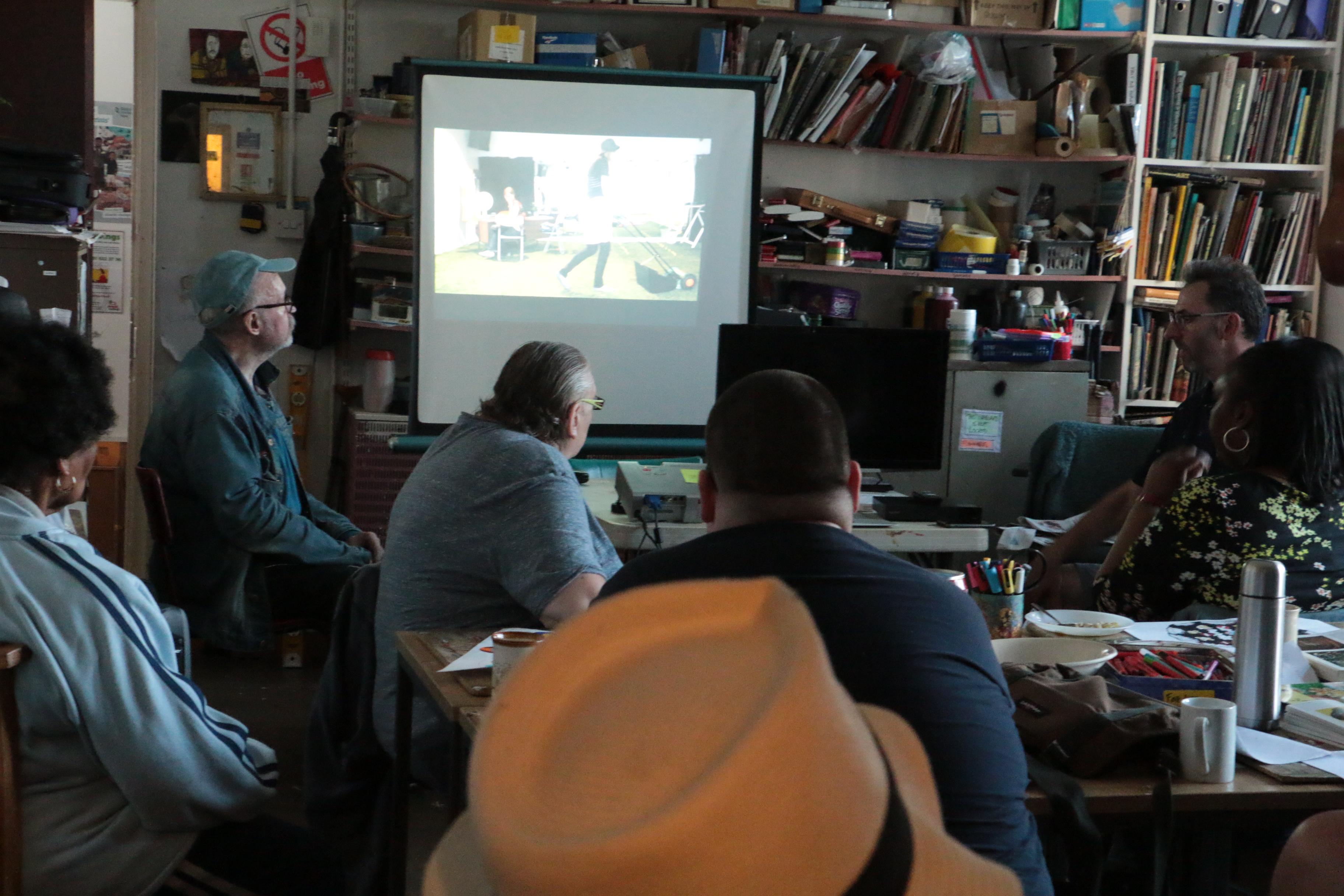 Jason Minsky talk at St Lukes Art Pr