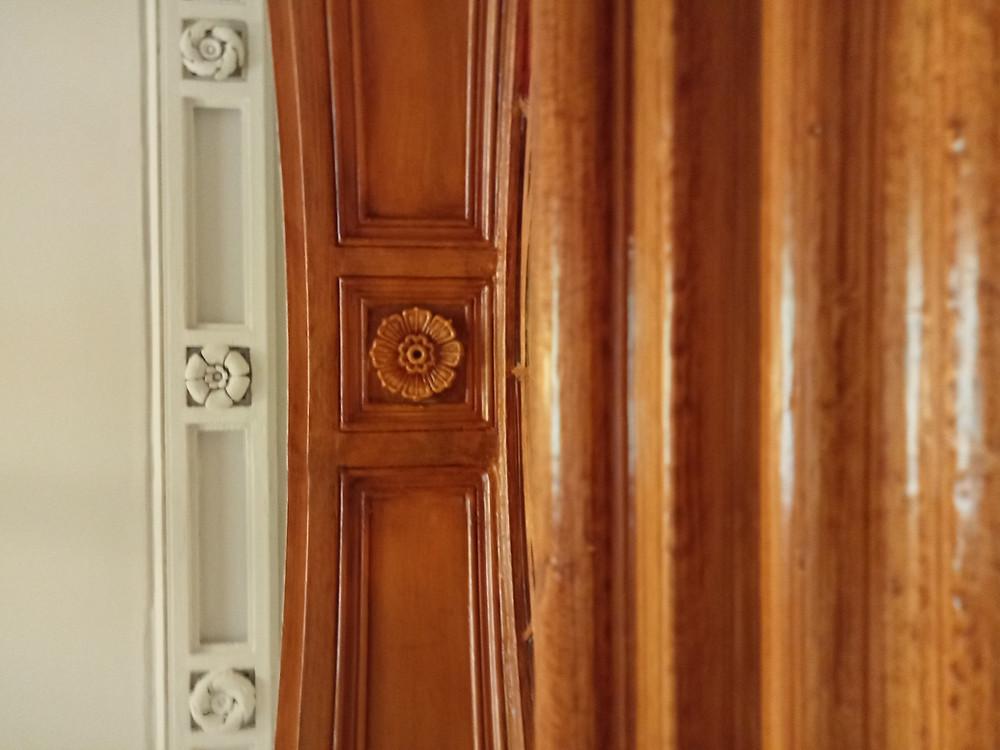 Hallway Ceiling and Doorframe