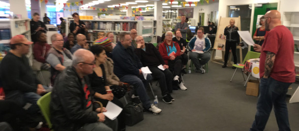 Breathing Spaces: poetry book launch event