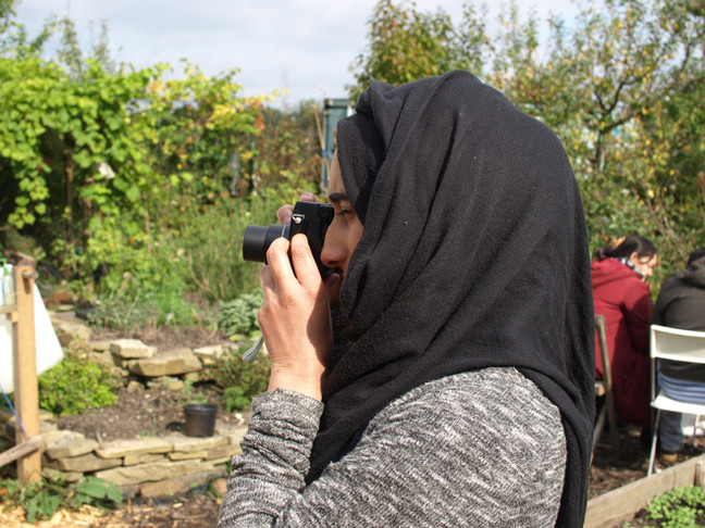 Listening at the Growing Together Project, Highfields Ecological Allotment Project (HEAP)
