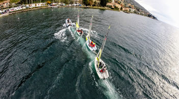 corsi di vela lago di garda, barche a vela, rs-feva