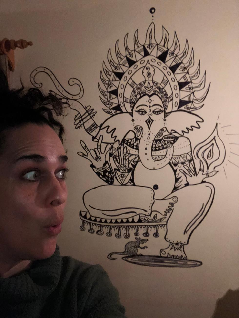 Esquisse Ganesha