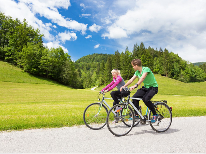 Get in shape with Bike Riding