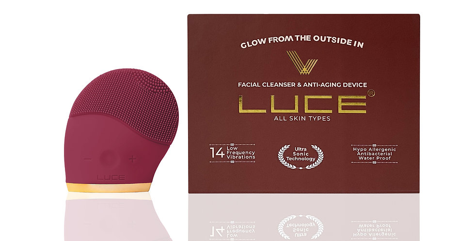 LUCE180° Facial Cleansing and Anti-Aging Device