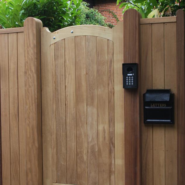 Hardwood Pedestrian Gate