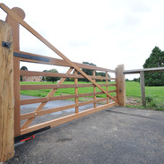6 Bar Gate with raised  helve