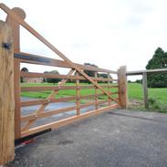 6 Bar Gate with raised  helve