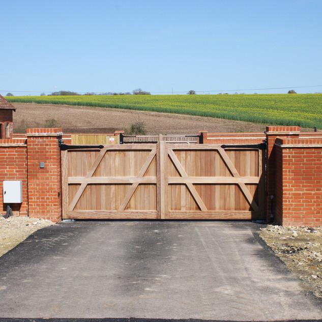 Manor Gates - Inside view