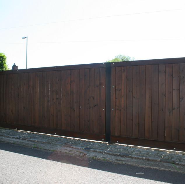 Metal Framed Security Gate