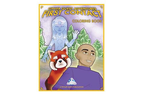 Cipher Quest Coloring Book