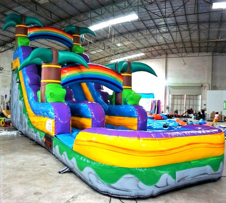 18' Tall Water Slide w/pool