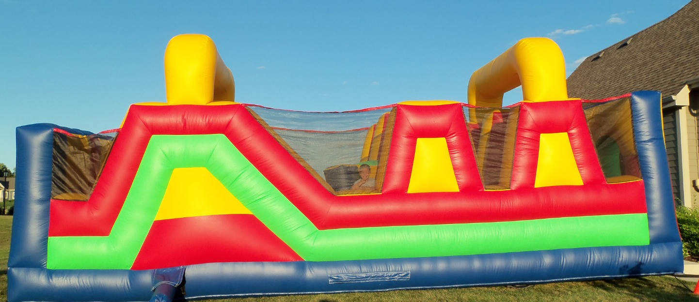 30' Obstacle- Side View