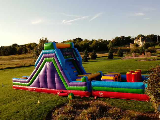 74' Obstacle- Side View