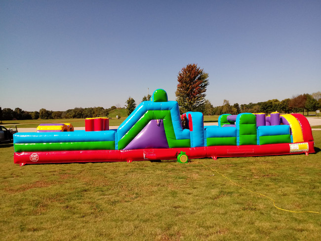 40' Obstacle- Side View