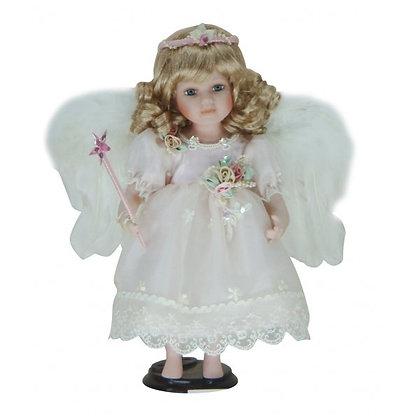 Кукла ангел интерьерная фарфор
