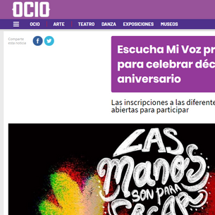 Escucha Mi Voz prepara festival para celebrar décimo aniversario