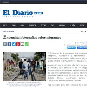 Expondrán fotografías sobre migrantes
