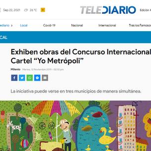 Exhiben obras del Concurso Internacional del Cartel