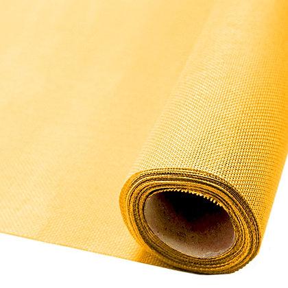 Лён (мешковина) искусственный , желтый