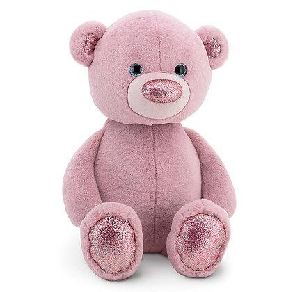 Пушистик Медвежонок розовый 35 см