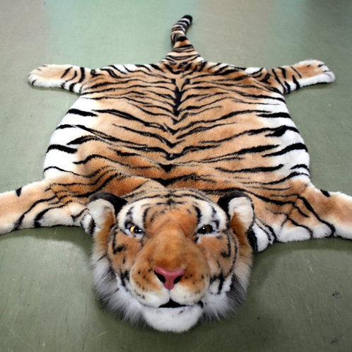 Шкура тигра интерьерная 130 см.