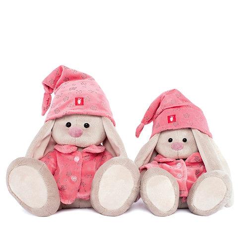 """Игрушка мягконабивная """"Зайка Ми"""" в розовой пижаме - малая"""