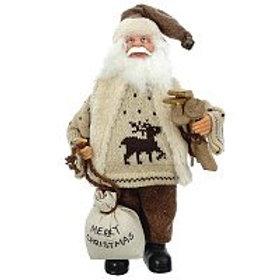 Дед Мороз интерьерный, 30 см.