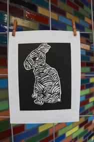 """""""Conejo"""" por Vanessa"""