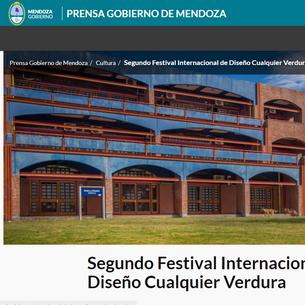 Segundo Festival Internacional de Diseño Cualquier Verdura