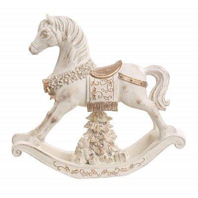 Музыкальная лошадка- качалка, коллекционная
