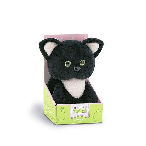 Котёнок чёрный 20 см.
