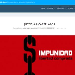 JUSTICIA A CARTELAZOS