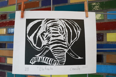 """""""Elefante"""" por Camila"""