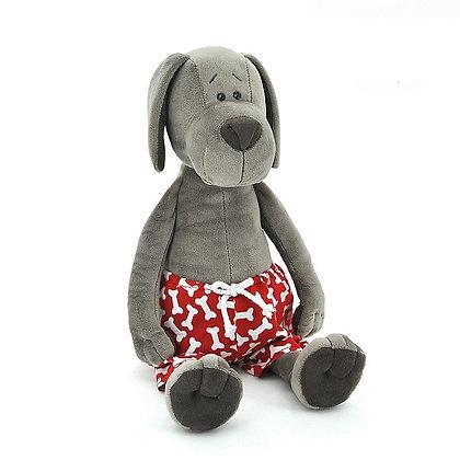 Пёс Барбоська в трусах, 30 см.