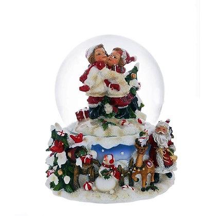 Снежный шар Дети ,диаметр 10 см.