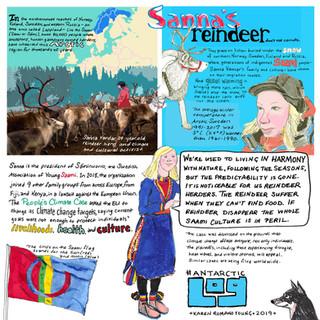 Log 139 Giant Sanna Reindeer Dec 30 2019