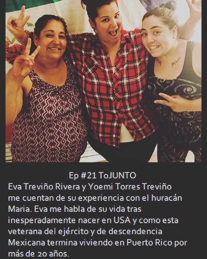 Ep 021 - Eva Treviño & Yoemi Torres