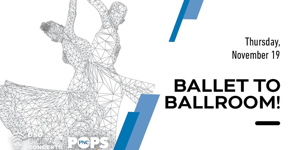 Detroit Symphony: Ballet to Ballroom