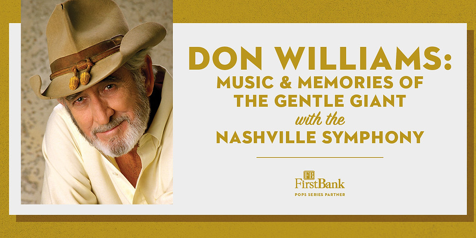 Don Williams: Music and Memories of the Gentle Giant
