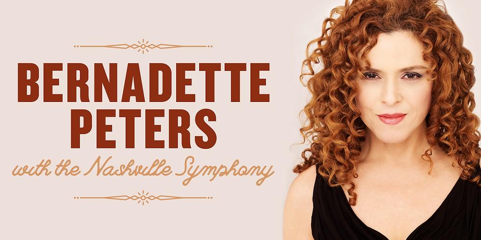 Bernadette Peters with the Nashville Symphony