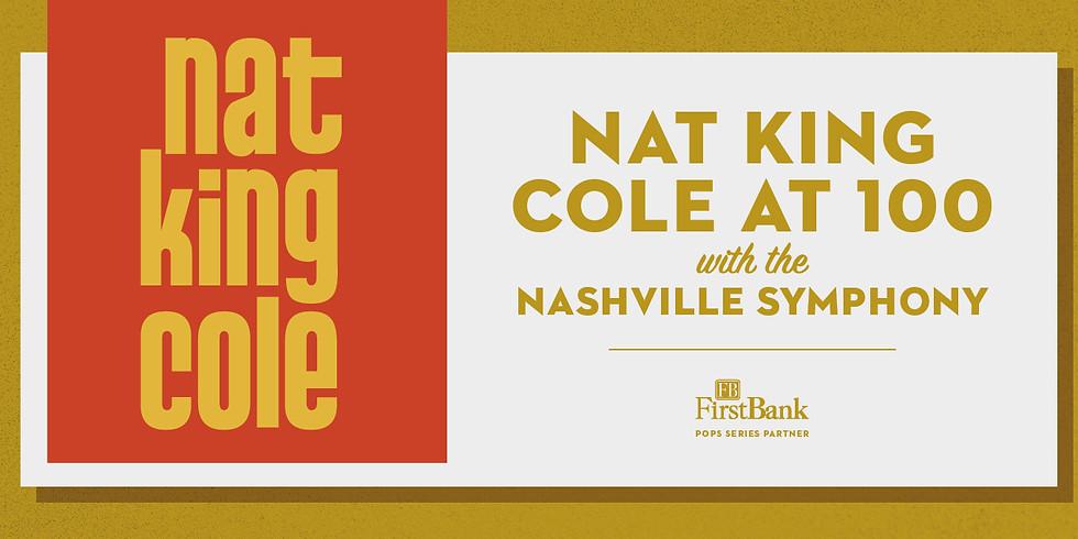 Celebrating Nat King Cole at 100 with the Nashville Symphony