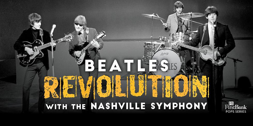 Beatles Revolution with the Nashville Symphony