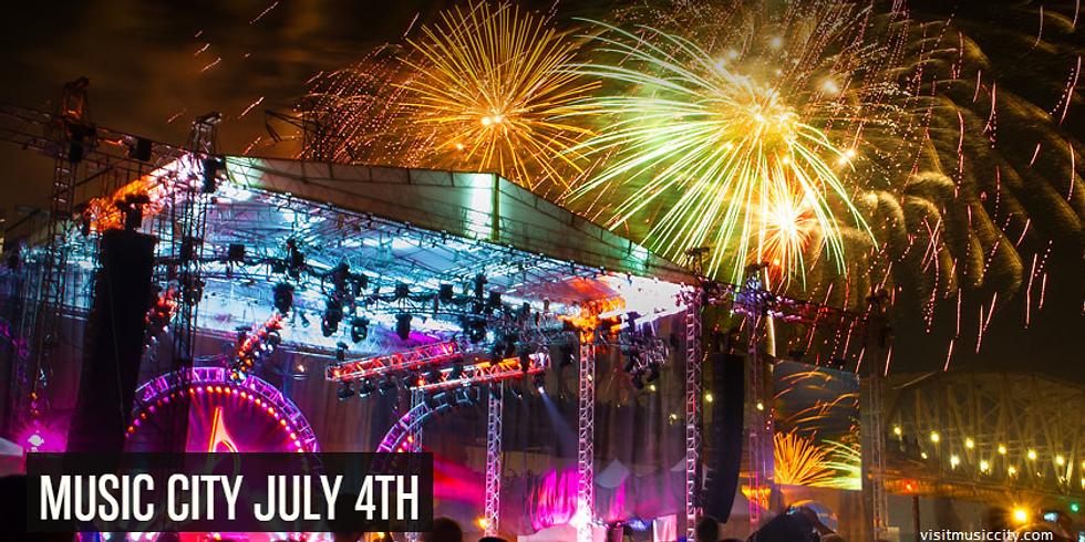 Nashville 4th of July Fireworks Spectacular