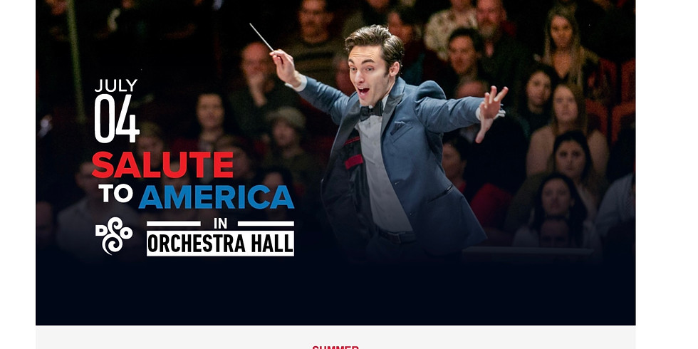Detroit Symphony: Salute to America