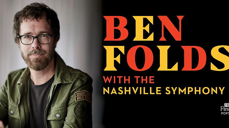 Ben Folds with the Nashville Symphony