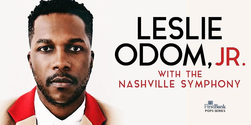 Leslie Odom Jr. with the Nashville Symphony