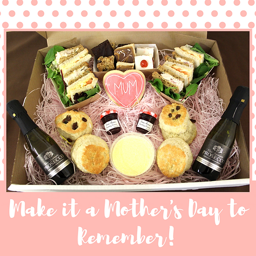 Mother's Day Cream Tea (For 2)