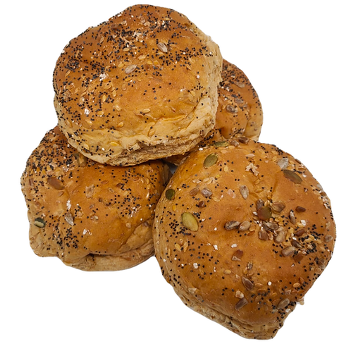 Multiseed Rolls (Pack of 4)