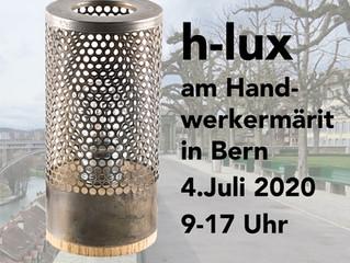 h-lux wieder am Handwerkermarkt 4.7.2020